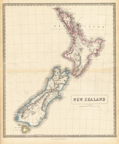 1853 George Philip and Son of Liverpool map 