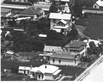 thumbnail of Cabragh House School taken from the ridge to the east in about 1919