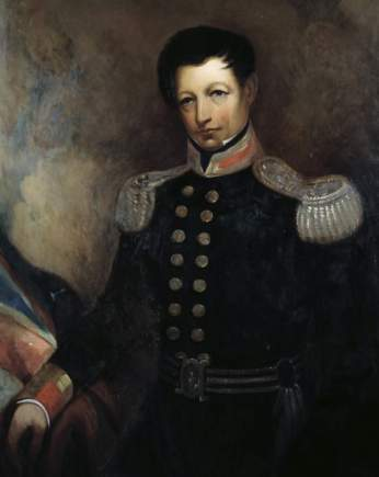 Portrait of Waterford man Captain William Hobson, first Governor of New Zealand.
