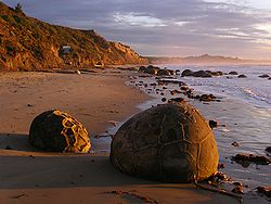Photo of Northern Otago coast