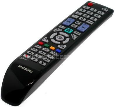 Image of Samsung TV controller's at Amber House tourist lodgings in Nelson, New Zealand