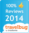 Amber House was awarded 100% Guest Rating in the 2014 TRAVELBUG ACCOMMODATION AWARDS BASED ON BOOKINGS AND POSITIVE CUSTOMER REVIEWS THROUGHOUT 2013