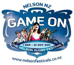Logo of The Nelson Rugby Festival