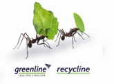 KÖMMERLING green ants carrying green leaves